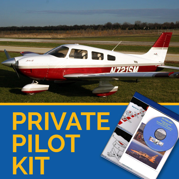 private pilot ground school kit for private pilot CFI teaching materials